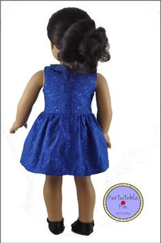 Periwinkle Pie Solomons' Sweetheart Doll Clothes Pattern 18 inch American Girl Dolls | Pixie Faire