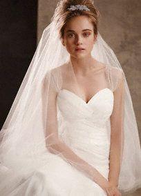 david's bridal veils