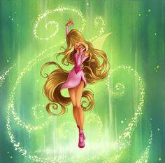 Flora Magic Winx by Brillantezza Winx Magic, Les Winx, Flora Winx, Bloom Winx Club, Little Poni, Pretty Drawings, Cartoon Profile Pictures, Arte Disney, Fandoms