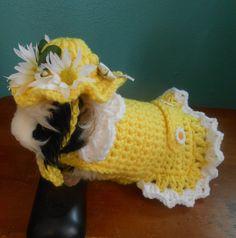 Margarita conejillo de Indias suéter vestido de punto