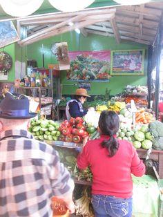 Vendedora de verduras.