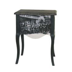 Noptiera Postcard / Bedside Postcard Vanity Bench, Bedside, Table, Furniture, Design, Home Decor, Decoration Home, Room Decor, Tables