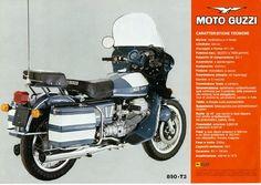 MOTOCICLETTE, MEMORABILIA ED ALTRO ANCORA: Moto Guzzi 850 T3 Polizia