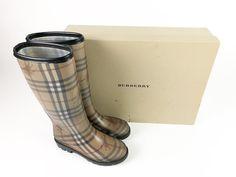 1f4f9bad7c6 Childrens Burberry Check Plaid Rubber Lisson Rain Boots Kids US SZ 3.5 EUR  35  fashion  clothing  shoes  accessories  kidsclothingshoesaccs   girlsshoes  ad ...