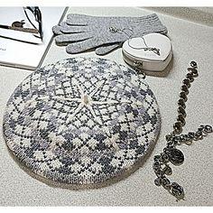 Ravelry: vikkyzm's Argyle Beret- free knitting pattern