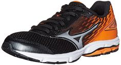 Mizuno Wave Rider 19 Junior Running Shoe (Little Kid/Big Kid) - From Shoes to Sandals Cross Country Running Shoes, Boys Running Shoes, Kids Running, Trail Running Shoes, Boys Shoes, Big Kids, Wave, Amazon, Golf