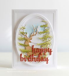 Memory Box Grand Stag Oval Frame , Pine Branch Oval Frame, Country Road Oval Birthday Card…