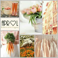 April, let there be sunshine and happiness! Collage #byJeetje♡