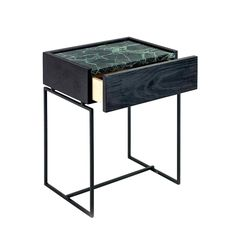 Serax marble, wood and metal side table, €454