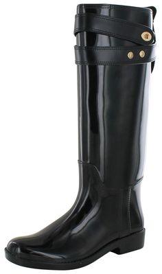 Coach Talia Women's Waterproof Rubber Rainboots Boots