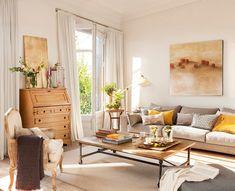 Small Apartment Interior, Small Apartment Living, Home Interior, Interior Design, Casa Feng Shui, Living Room Decor Inspiration, Dream Decor, Dream Rooms, Decorating Your Home