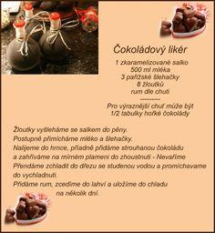 (168) Doručené – Seznam Email Christmas Candy, Christmas Baking, Christmas Cookies, Cocktail Drinks, Cold Drinks, Czech Recipes, Rum, Fondant, Smoothies