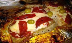Matambrito a la Pizza {secreto de cerdo ibérico a la pizza}