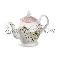 Cottage Flower teás kanna - RUSZTIK Home - Romantikus lakberendezés