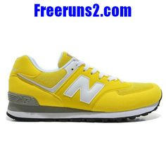 New Balance 574 Five Rings series blanc en or Jaune Chaussures Hommes