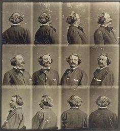 Autoportrait tournant Nadar c.1865