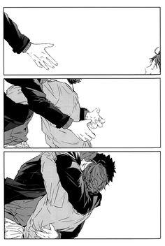 """Iwaizumi x Oikawa (IwaOi) from Haikyuu! by Kizu Natsuki """"Haikyuu! dj - Shisseishou Oikawa Tooru no Hanashi"""" Kagehina, Oikawa X Iwaizumi, Daisuga, Iwaoi, Haikyuu Manga, Manga Anime, Haikyuu Fanart, Haikyuu Dj, Kurotsuki"""