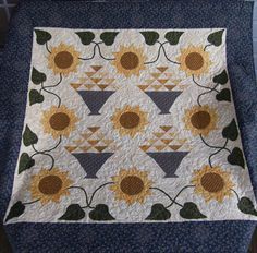 Quilting on the Crescent: April 2012