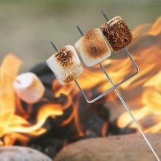 #design3000 Dreizack zum Rösten von Marshmallows über offenem Feuer.