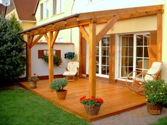 - Pergola Patio With Fan - Pagoda Garden Pergola Backyard Patio Designs, Pergola With Roof, Backyard Pergola, Pergola Shade, Patio Roof, Back Patio, Pergola Designs, Diy Patio, Pergola Plans