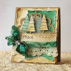 Christmas card by Amy Sheffer (Pickled Paper Designs)