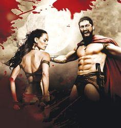King Leonidas and Queen Gorgo - 300
