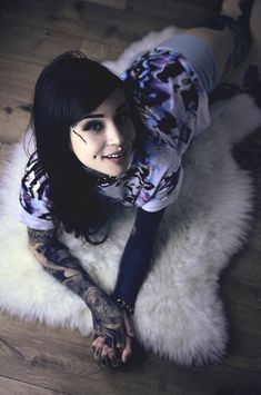 Tattoo Girl Models Beauty Hair Colors 35 Ideas For 2019 Tattoed Girls, Inked Girls, Frosted Hair, Pin Up, Traditional Japanese Tattoos, Monami Frost, Cool Hair Color, Hair Colors, Japanese Dragon Tattoos