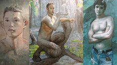 Todd Yeager's beautifully rendered night creatures and lost boys seduce us into his fantasy world.Peter Pan would approve. Creatures Of The Night, Satyr, Lost Boys, Fantasy World, Peter Pan, Painting, Art, Art Background, Painting Art