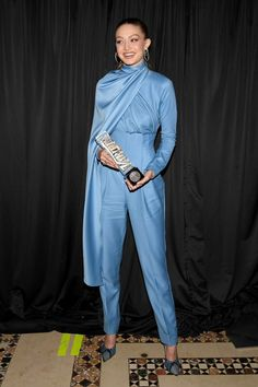 Gigi at Variety's Power of Women launch event in NYC Gigi Hadid Looks, Bella Gigi Hadid, Gigi Hadid Style, Zayn Malik Hairstyle, High Fashion Trends, Celebs, Celebrities, Celebrity Style, Harem Pants
