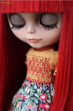 My hair is red Pretty Dolls, Cute Dolls, Beautiful Dolls, Custom Barbie, I Love Redheads, Enchanted Doll, Valley Of The Dolls, Little Doll, Hello Dolly