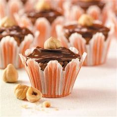 Chocolate-Hazelnut Brownie Bites Recipe -I created this recipe because my…
