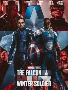 The Falcon and the Winter Soldier Marvel Show, Marvel Series, Marvel Fan, Marvel Dc Comics, Marvel Avengers, Marvel Movie Posters, Marvel Characters, Bucky Barnes, Winter Soldier Wallpaper