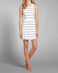 Womens Nautical Striped Skater Dress | Womens Dresses & Rompers | Abercrombie.com