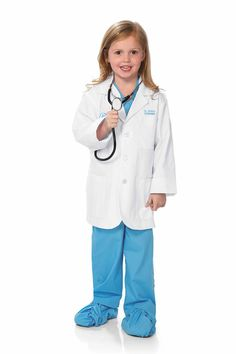 """""""Shop Chasing Fireflies for our Personalized Veterinarian Costume for Kids. Browse our online catalog for the best in unique children's costumes, clothing and more. Cute Halloween Costumes, Halloween Dress, Cool Costumes, Costume Ideas, Halloween 2016, Dress Up Outfits, Kids Outfits, Lab Coat Costume, Veterinarian Costume"""