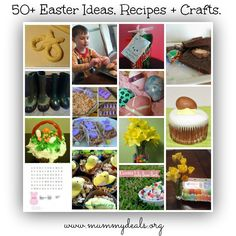 50+ Easter Ideas, Recipes + Crafts including how to talk to your kids about Jesus and the cross from @ohAmanda and @Christen Price