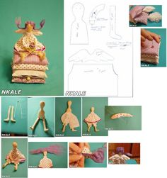 Doll Patterns, Sewing Patterns, Sewing Dolls, Sew On Patches, Diy Doll, Cute Dolls, Fabric Dolls, Doll Clothes, Projects To Try