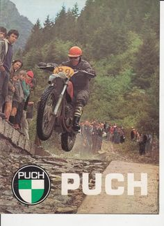 Puch marketing poster for their Endure bikes.