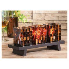 4-Piece Jericho Candleholder Set