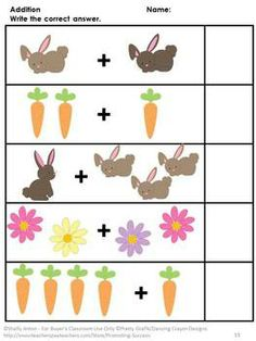 Easter: Easter will be fun with this 75 page printable packet full of preschool… Free Preschool, Preschool Activities, Grammar For Kids, Special Education Math, Holiday Classrooms, Kindergarten Math Worksheets, Spring Activities, Literacy Skills, Literacy Centers