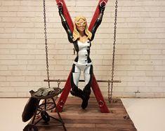 Handmade BDSM accessories furniture & more. ze sklepu BdsmFan na Etsy St Andrews Cross, Bad Barbie, Barbie Furniture, Miniature Dolls, Doll Accessories, Dollhouse Miniatures, Girls, Etsy, Handmade