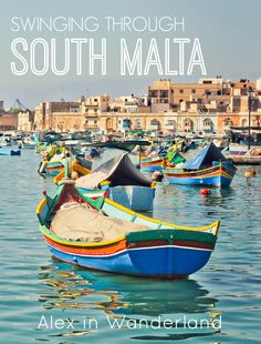 The best of South Malta--Exploring the Sunday Fish Market at Marsaxlokk, cliff jumping at Peter's Pools, and taking in the view of the Blue Grotto from above. Malta is nature at its very best   Alex in Wanderland