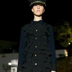 Colecção outono/inverno 2012 Andreia Marques camisa vestido dress shirt