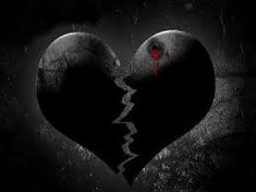 """Nobodies heart can be this black. Black and dry as coal, but because of the red blood, there is hope. Proverbios Who can say, """"I have kept my heart pure; Heart Art, Love Heart, Broken Heart Pictures, Broken Heart Tattoo, Heart Broken, Sapo Meme, Anti Valentines Day, Black Wallpaper Iphone, Horror"""