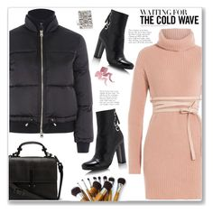 """""""Perfect Puffer Jackets"""" by christinacastro830 ❤ liked on Polyvore featuring Valentino, Topshop, Proenza Schouler, Suzanne Kalan and puffers"""