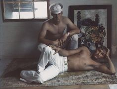 Marie Cosindas, Sailors, Key West, 1966