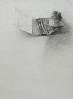 Julia Clift, Spent, 2011, graphite on paper