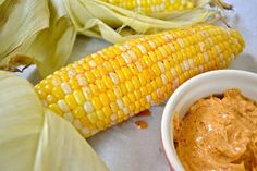 Oven Roasted Corn (to try)