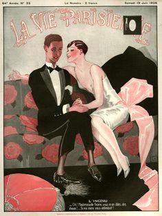Georges Léonnec (1881 – 1940). La Vie Parisienne, 19 Juin 1926. [Pinned 6-ii-2015]