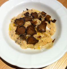 «Gnocchis fait maison à la crème de truffe»