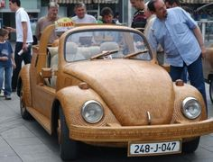 Wooden VW Beetle Cool